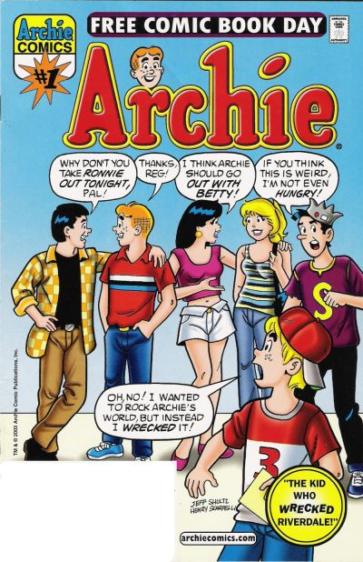 Cover for Archie, Free Comic Book Day Edition (Archie, 2003 series) #1