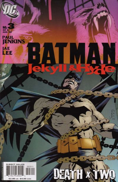 Cover for Batman: Jekyll & Hyde (DC, 2005 series) #3