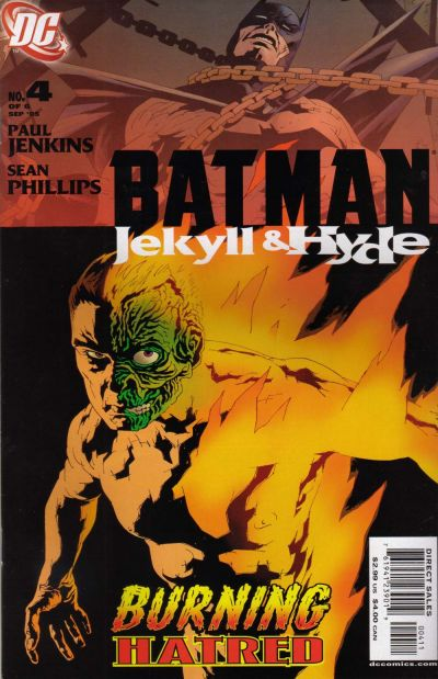 Cover for Batman: Jekyll & Hyde (DC, 2005 series) #4