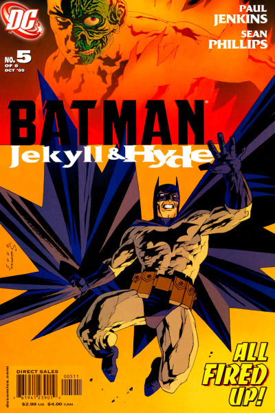 Cover for Batman: Jekyll & Hyde (DC, 2005 series) #5