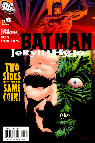 Cover for Batman: Jekyll & Hyde (DC, 2005 series) #6