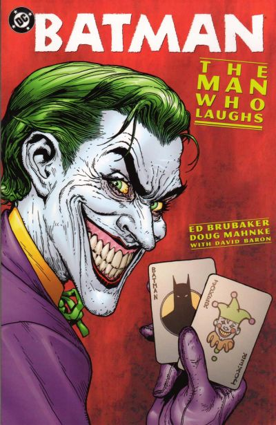 Cover for Batman: The Man Who Laughs (DC, 2005 series)