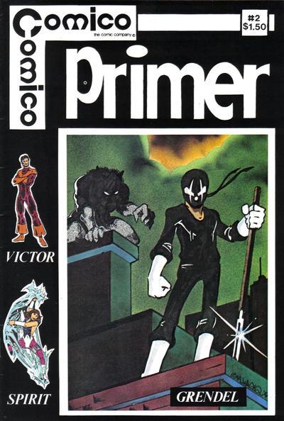 Cover for Primer (Comico, 1982 series) #2
