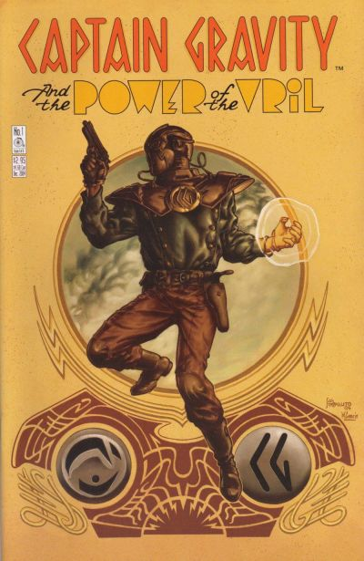 Cover for Captain Gravity: The Power of the Vril (Penny-Farthing Press, 2004 series) #1