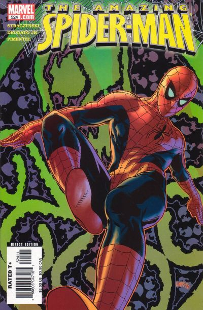 Cover for The Amazing Spider-Man (Marvel, 1999 series) #524 [Newsstand Edition]