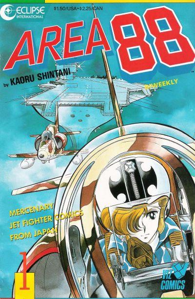 Cover for Area 88 (Eclipse; Viz, 1987 series) #1