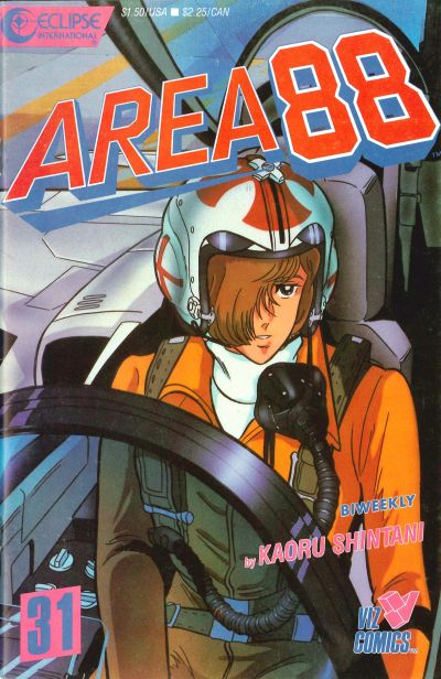 Cover for Area 88 (Eclipse; Viz, 1987 series) #31