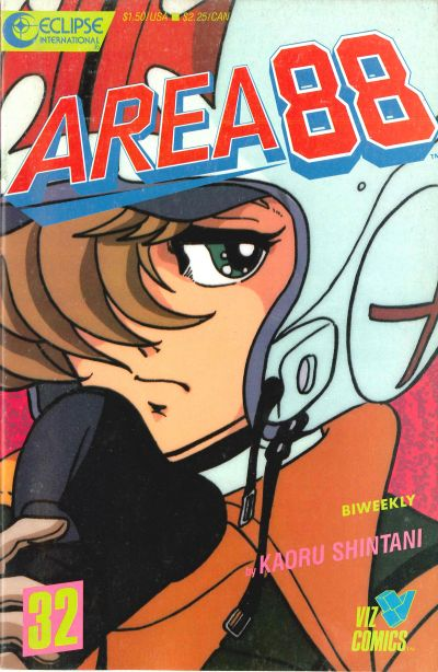 Cover for Area 88 (Eclipse; Viz, 1987 series) #32