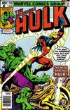 Cover Thumbnail for The Incredible Hulk (1968 series) #246 [Newsstand]
