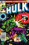 Cover Thumbnail for The Incredible Hulk (1968 series) #270 [Newsstand]
