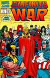 Cover for The Infinity War (Marvel, 1992 series) #1 [Direct Edition]
