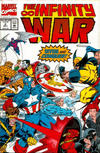 Cover for The Infinity War (Marvel, 1992 series) #2 [Direct Edition]