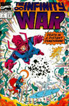 Cover for The Infinity War (Marvel, 1992 series) #3 [Direct Edition]