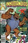 Cover for The Inhumanoids (Marvel, 1987 series) #4