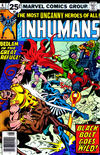 Cover for The Inhumans (Marvel, 1975 series) #6 [25¢ Cover Price]
