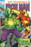 Cover for Iron Man (Marvel, 1968 series) #9