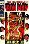 Cover for Iron Man (Marvel, 1968 series) #18 [Regular Edition]