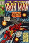 Cover for Iron Man (Marvel, 1968 series) #23 [Regular Edition]