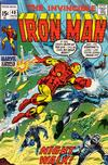 Cover for Iron Man (Marvel, 1968 series) #40 [Regular Edition]