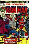 Cover for Iron Man (Marvel, 1968 series) #61