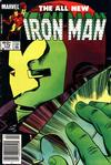 Cover for Iron Man (Marvel, 1968 series) #179 [Direct Edition]