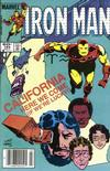 Cover Thumbnail for Iron Man (1968 series) #184 [Newsstand]