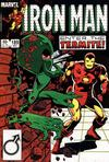 Cover for Iron Man (Marvel, 1968 series) #189 [Direct Edition]