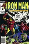 Cover Thumbnail for Iron Man (1968 series) #190 [Newsstand Edition]