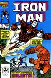 Cover for Iron Man (Marvel, 1968 series) #206 [Direct Edition]