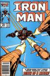 Cover for Iron Man (Marvel, 1968 series) #208 [Newsstand]