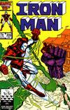 Cover for Iron Man (Marvel, 1968 series) #209 [Direct]