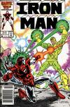 Cover Thumbnail for Iron Man (1968 series) #211 [Newsstand]