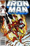 Cover for Iron Man (Marvel, 1968 series) #216 [Newsstand]