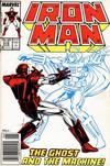 Cover for Iron Man (Marvel, 1968 series) #219 [Newsstand]