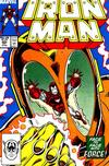 Cover for Iron Man (Marvel, 1968 series) #223 [Direct Edition]