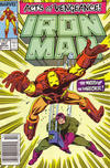 Cover Thumbnail for Iron Man (1968 series) #251 [Newsstand]