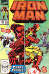Cover for Iron Man (Marvel, 1968 series) #255 [Direct]