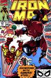 Cover for Iron Man (Marvel, 1968 series) #257 [Direct]