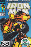 Cover for Iron Man (Marvel, 1968 series) #258 [Direct]