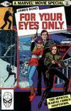 Cover for James Bond For Your Eyes Only (Marvel, 1981 series) #1 [Direct Edition]