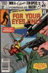 Cover for James Bond For Your Eyes Only (Marvel, 1981 series) #2 [Newsstand]