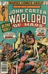 Cover for John Carter Warlord of Mars (Marvel, 1977 series) #6