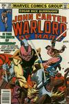 Cover for John Carter Warlord of Mars (Marvel, 1977 series) #10