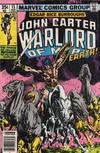 Cover for John Carter Warlord of Mars (Marvel, 1977 series) #15