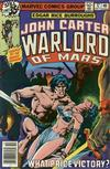 Cover for John Carter Warlord of Mars (Marvel, 1977 series) #17