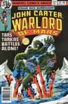 Cover for John Carter Warlord of Mars (Marvel, 1977 series) #18