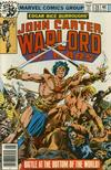 Cover for John Carter Warlord of Mars (Marvel, 1977 series) #20
