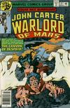 Cover for John Carter Warlord of Mars (Marvel, 1977 series) #22