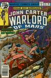 Cover for John Carter Warlord of Mars (Marvel, 1977 series) #23