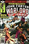 Cover for John Carter Warlord of Mars (Marvel, 1977 series) #27 [Direct Edition]